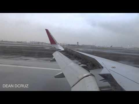 Wet Landing At Sharjah Airport Air Arabia
