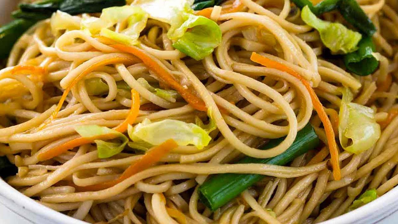 Chinese Chow Mein Recipe Youtube