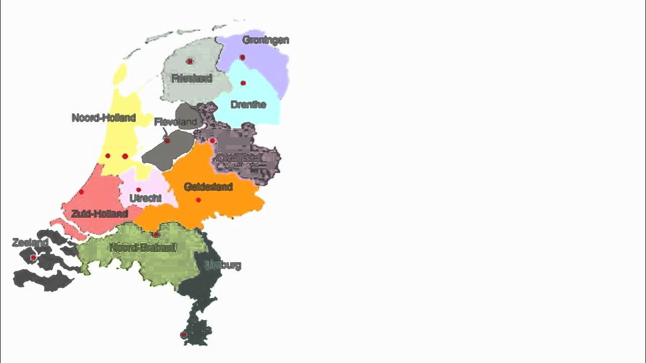 About The Netherlands provinces name rivers Over Nederland