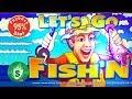 Let's Go Fish'n - 95% slot machine