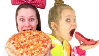 Лера и мама - история для детей про вредные сладости и конфеты