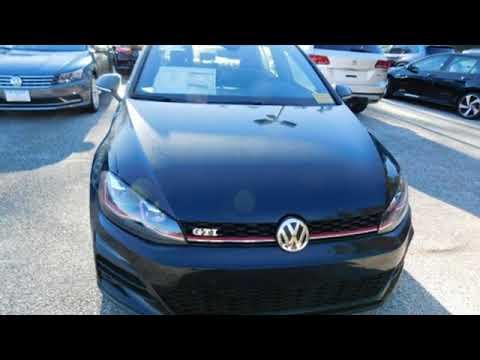New 2018 Volkswagen Golf GTI Laurel MD Baltimore, MD #4279936
