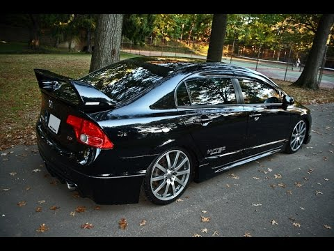 yeni honda civic modifiye 2014 youtube. Black Bedroom Furniture Sets. Home Design Ideas