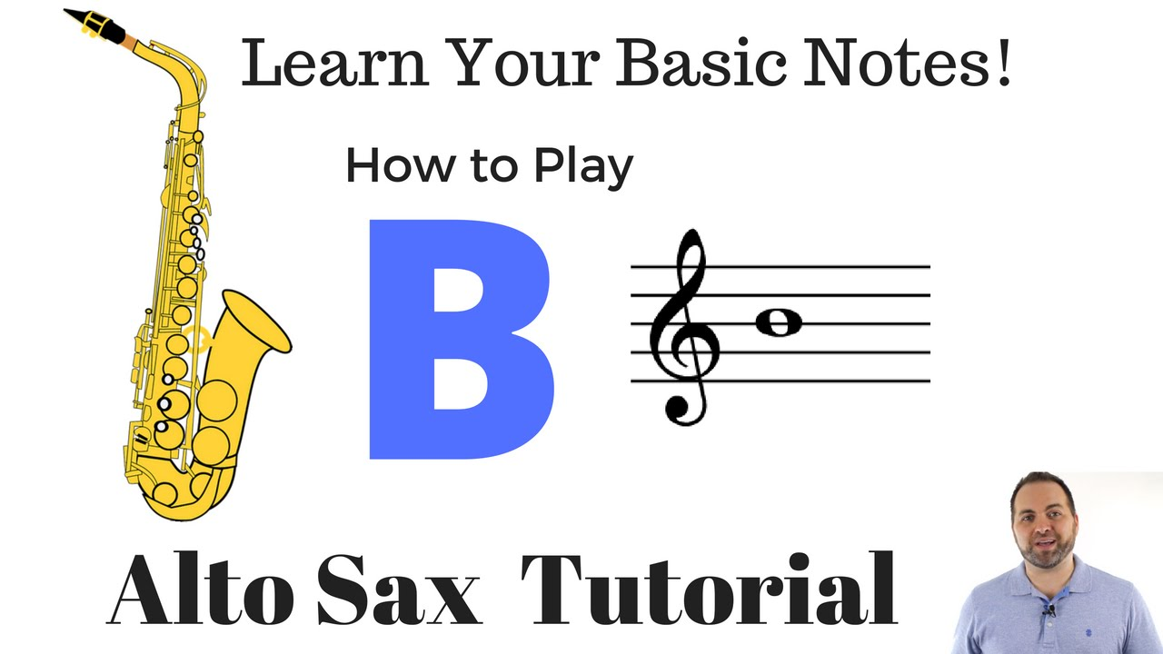 you tube how to start saxophone