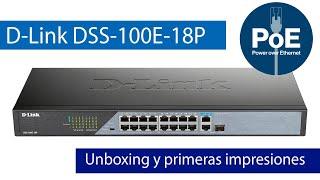 D-Link DSS-100E-18P: Conoce este switch PoE con Long-Range para llegar a 250 metros de distancia