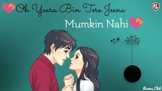 Phir Mujhe Dil Se Pukar Tu Song    New WhatsApp Status Video    R@w@s Club