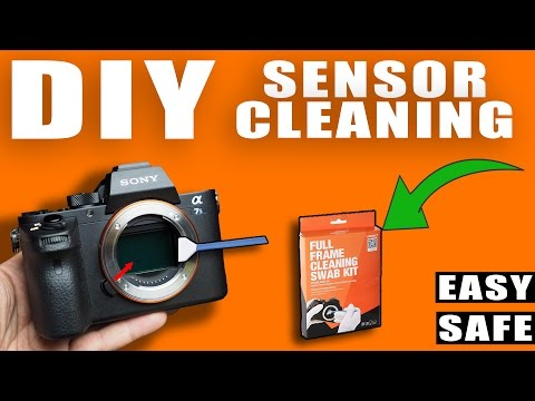 HOW TO CLEAN YOUR MIRRORLESS FULL FRAME SENSOR? - Easy and Safe Way To Clean Your Own Camera Sensors