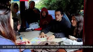"""Capacitación """"Vive tus Parques"""" INJUV y Sendero de Chile en Parque Nacional Puyehue"""