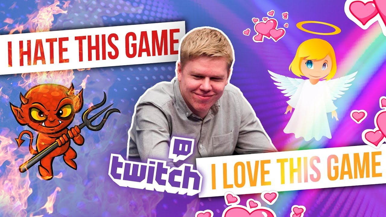 TOP Twitch Poker moments | I HATE/LOVE this game