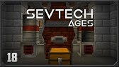 Sevtech Ages EP17 Ore Excavation + Steve's Carts Tree Farm