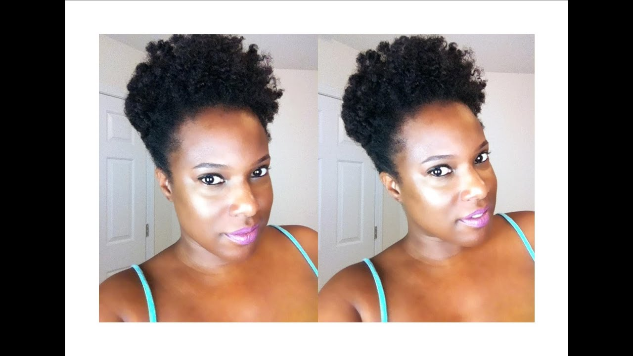 Natural Hair Twist Out Using Design Essentials Curl Stretching
