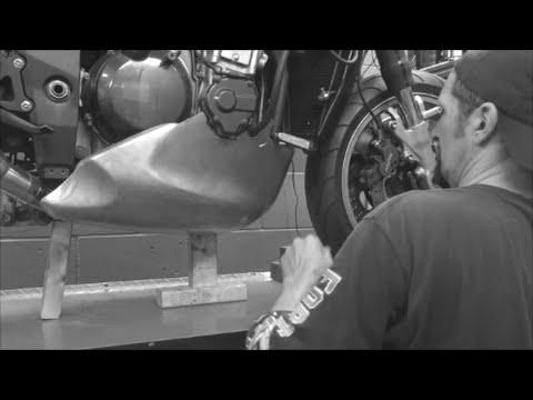 Delboy's Garage, Fighter Build #32 Belly Pan Mounts !