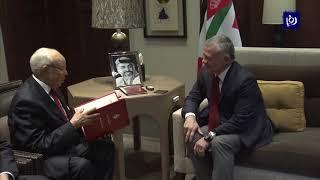 الملك يتسلم دعوة للمشاركة بالقمة العربية (9-1-2019)