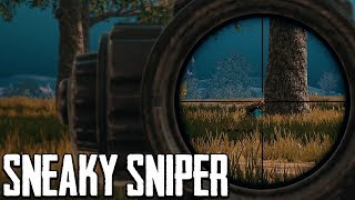 Sneaky Sniper in PUBG Returns (Playerunknown's Battlegrounds)