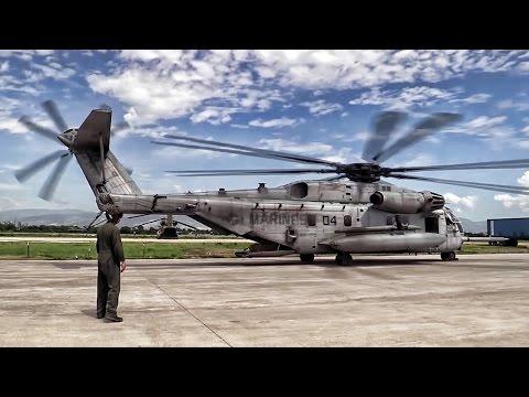Marines Fly Humanitarian Aid To Haiti Hurricane Victims