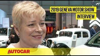 Linda Jackson - CEO, Citroën | Interview | Geneva Motor Show 2019 | Autocar India