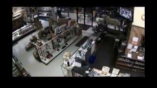 10 men break into a gun store mission impossible style...!