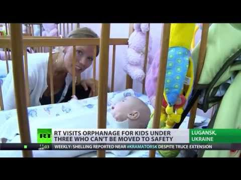 RT visits orphanage for kids with special needs on front line in Lugansk, Ukraine