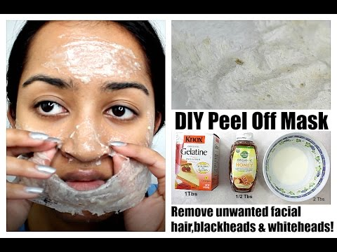 Remove Unwanted Facial Hair Blackheads Whiteheads At Home Diy