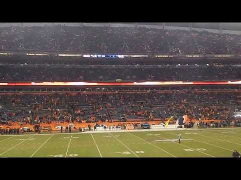 Sport Authority Field at Mile High Pre-Game Ceremony (Dec.12 2013 Chargers vs Broncos)