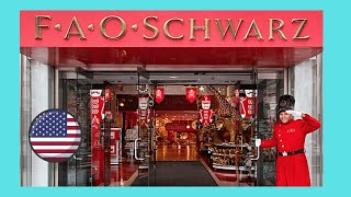 The world famous FAO Schwarz toy store before closing, New York City (USA)