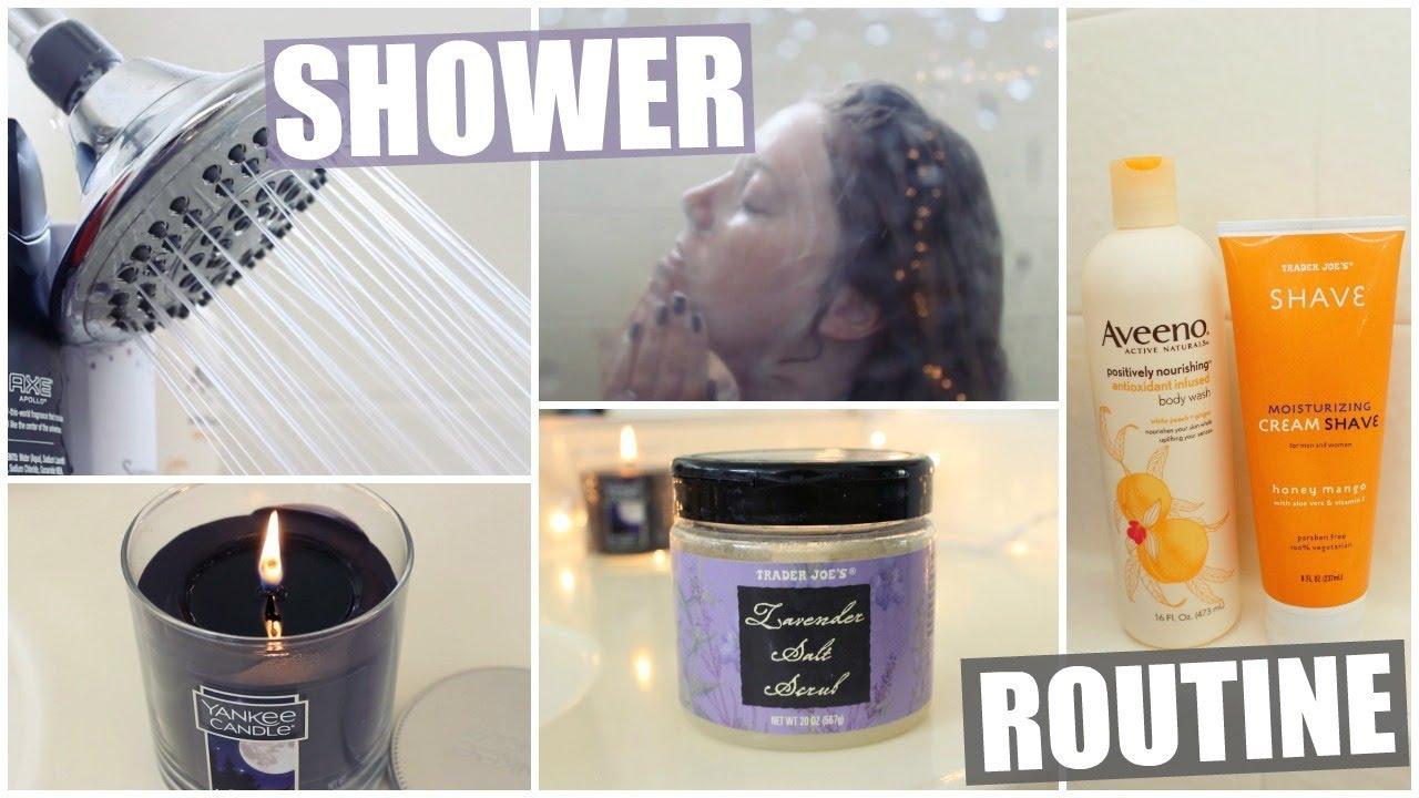 Pamper Shower Routine