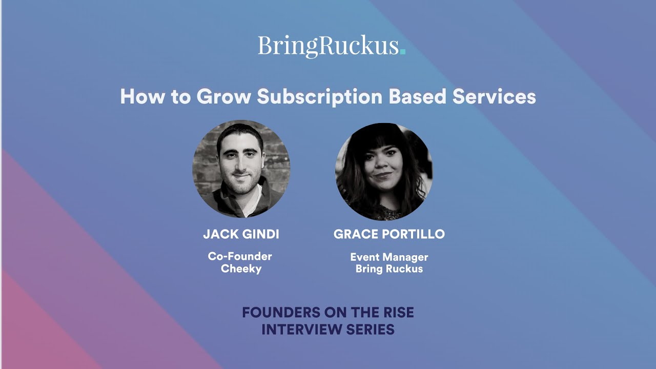 How to Grow Subscription Based Services