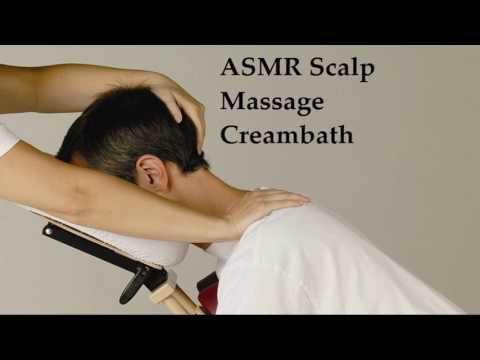 ASMR Scalp Massage Creambath and Guided Meditation