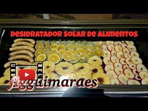 Desidratador Solar De Alimentos Fácil de Fazer