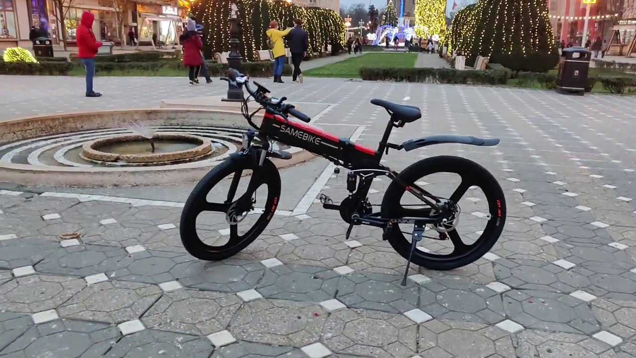 The best electric bike Samebike L026 M nine unboxing assembly guide cea mai tare bicicleta electrica