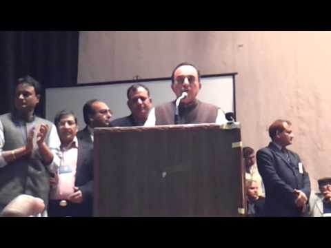 IIM Bangalore's Finance Professor is now the part of ACACI Subramanian Swamy