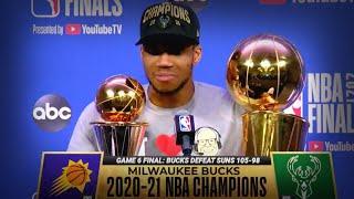THE BUCKS ARE F#@7ING NBA CHAMPIONS!