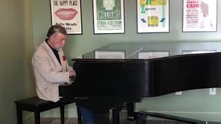This chickering & sons grand piano was brought to nashville, tn from beaumont, tx in 1965 by cowboy jack clement. 1969, he built the clement recordin...