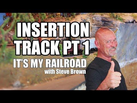 109: Custom roadbed idea for N Gauge model railroading layout (pt 1)