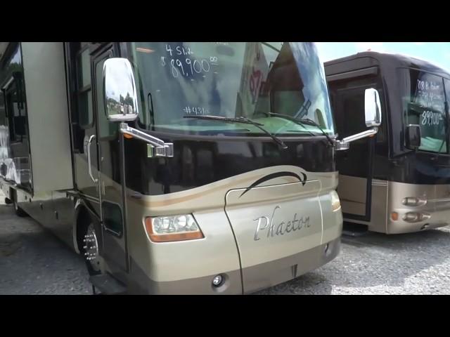 2007 Tiffin (Allegro) Phaeton 40QDH Class A Diesel, 4 Slides