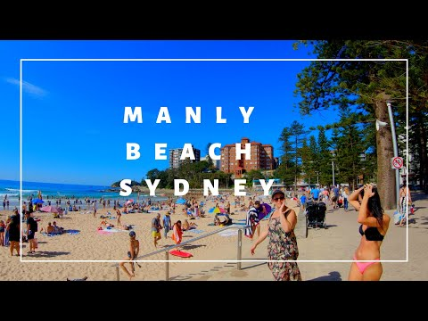 Manly City | Beach And Coast Walk To Shelly Beach Manly | Sydney Australia  🦘