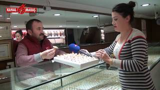 Kanal Maraş altın piyasasının nabzını tuttu