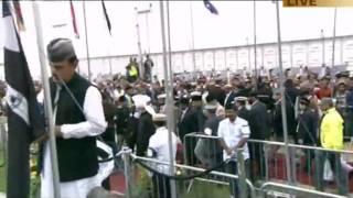 Jalsa Salana UK 2011 Islam Ahmadiyya Flag Hoisting Ceremony