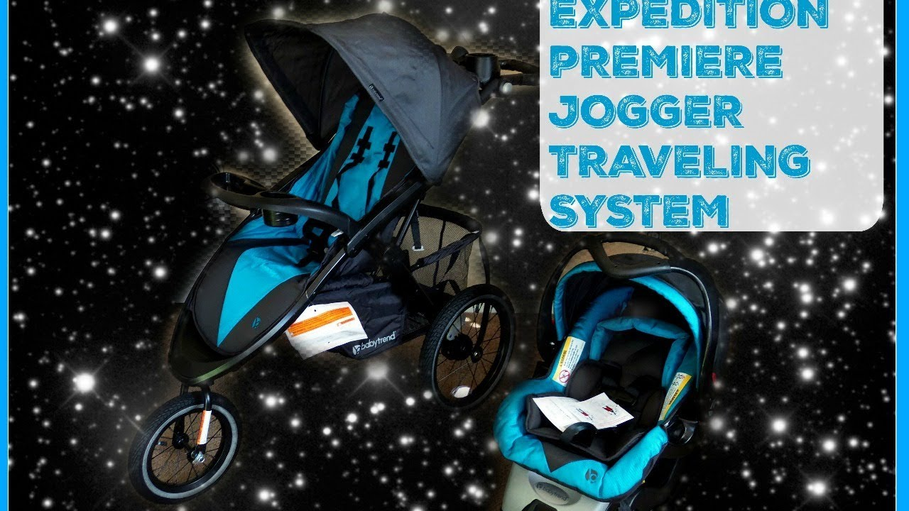 Baby Trends Expedition Premiere Jogger Traveling System