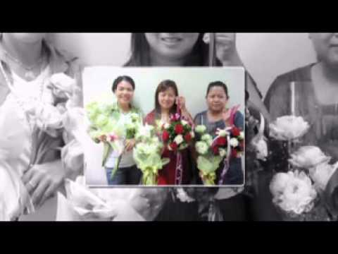 """ประมวลภาพกิจกรรม """"จัดดอกไม้สด รุ่นที่ 21"""" ปี 2555"""