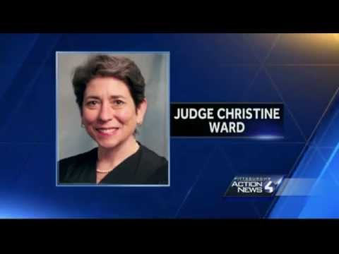 Corrupt Judges, Lawyers & Criminologists. Wall of Shame. Pennsylvania Judge Christine Ward