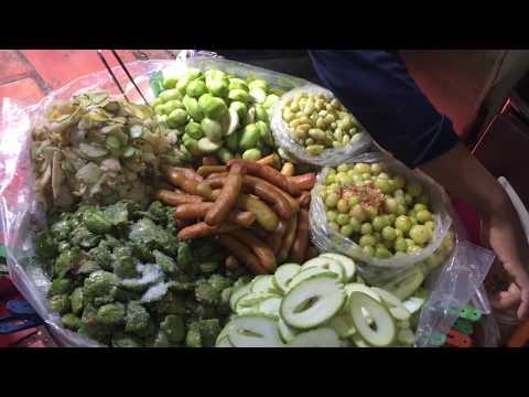 Asian Street Food - Walk Around Market Food In Asia - Cambodian Market Food