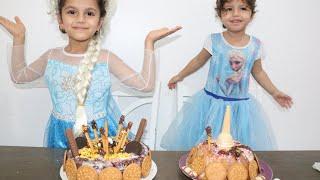 السا الكبيرة ضد السا الصغيرة ! تحدي تزيين الكيك | cake decorating challenge| السا ضد انا