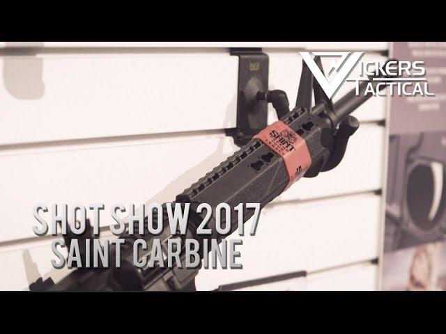 Shot Show 2017 - Springfield Armory Saint Carbine