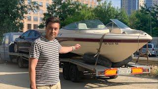Встречаем авто из США и лодку. Volvo, nissan, audi, ford