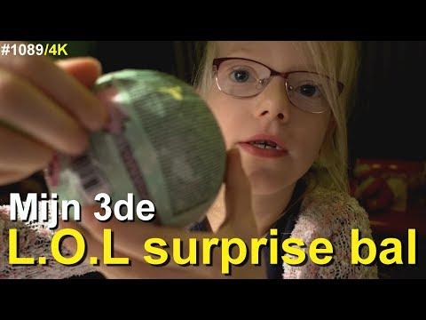 L.O.L SURPRISE BAL uitpakken. Dit wordt mijn 3de BAL die ik uitpak. Wat zal dit worden #1089