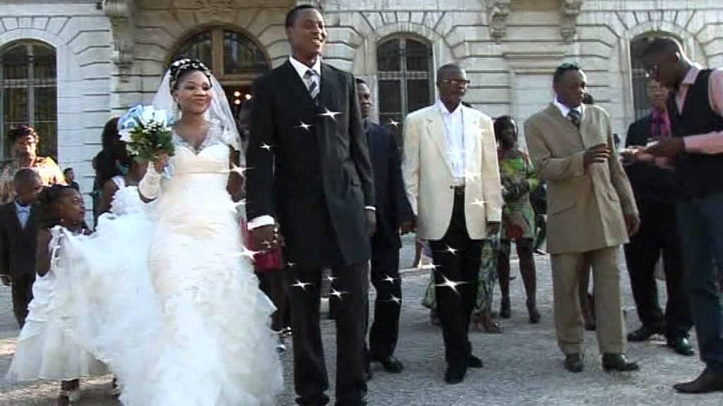 mariage civil et religieuse de faustino et lily en france youtube. Black Bedroom Furniture Sets. Home Design Ideas