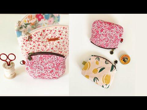 DIY Coin purse / Seashell Trio Pouch / mini bag / 동전지갑 만들기