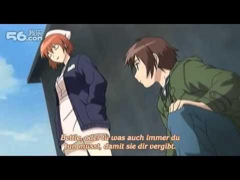 Hanbun no Tsuki ga Noboru Sora Folge 2 Ger Sub