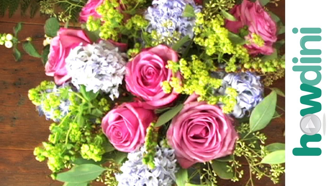 Flower arranging: How to arrange flowers like a pro - YouTube